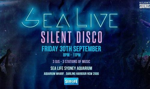 SEA LIVE Silent Disco header